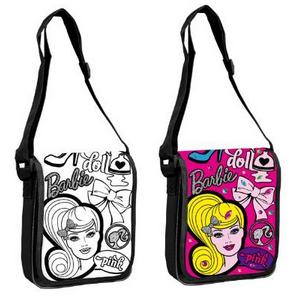 Барби Чанта за оцветяване с капак