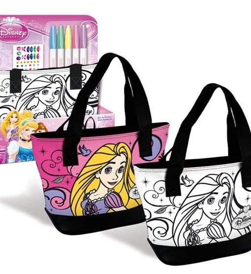 Чанта за оцветяване с две дръжки Disney Princess