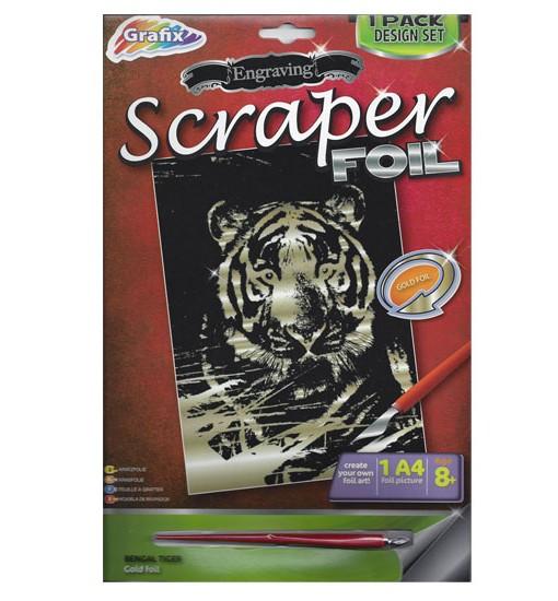 Комплект за гравиране – Тигър 5
