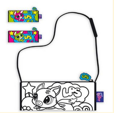 Littlest Pet Shop Несесер за оцветяване