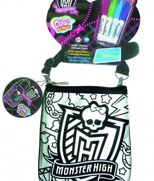 Модерна чанта за оцветяване Monster High