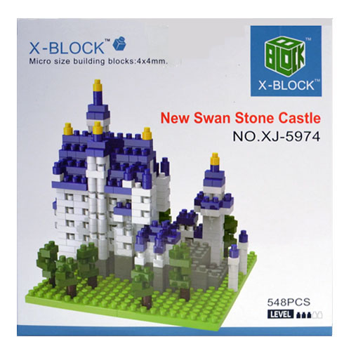 Конструктор New Swan Stone Castle