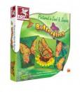 Детска креативна игра – Рисуване с пясък и паети - Пеперуди