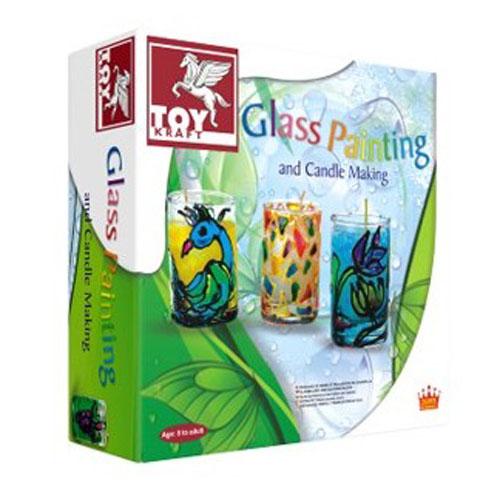 Креативна игра за деца - Стъклени свещници