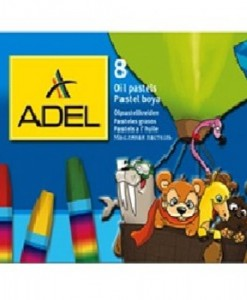 Adel Пастели Adel маслени, 8 цвята
