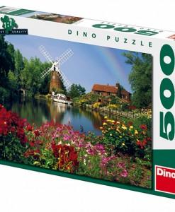 Dino Пъзел Вятърна мелница 500 части