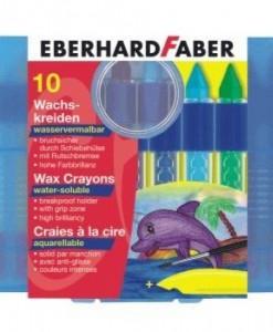 Eberhard Faber Пастели 10 цвята държ.вод.