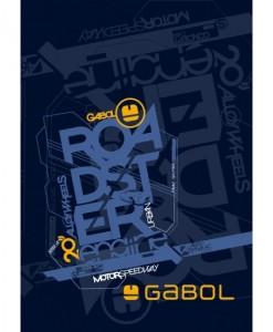 Gabol Tетрадка A4 60 листа, бели4