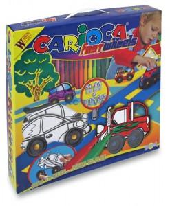 Carioca Fast wheels 3D КОМПЛЕКТ ЗА ОЦВЕТЯВАНЕ