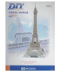 3D Puzle Айфелова кула