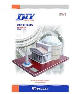 3D пъзел DIY Puzzle Пантеонът